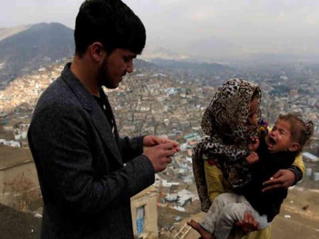 Taliban dan ISIS Hambat Vaksinasi Polio 1,2 Juta Anak Afganistan