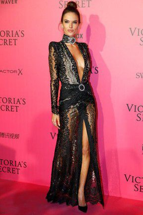 Alessandra is part of the casting of the Victoria's Secret Fashion Show