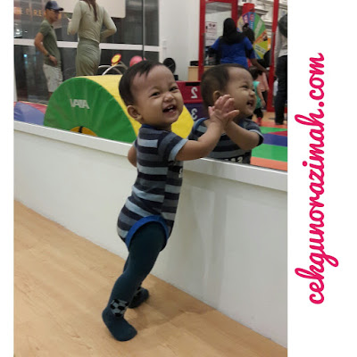 dhia zahra, tips keibubapaan, bina keyakinan anak, baby paling comel di dunia