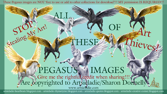 Pegasus art/graphics by Artsieladie