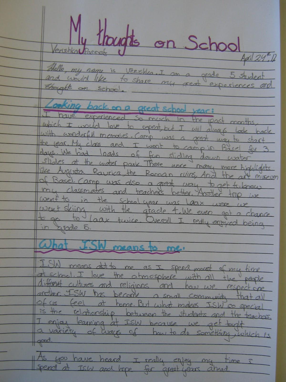 Writing Persuasive Essays 3rd Grade