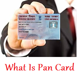 Pan Card What Is Pan Card How To Apply Pan Card