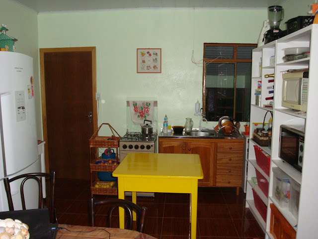 A cozinha da Edel em 2014