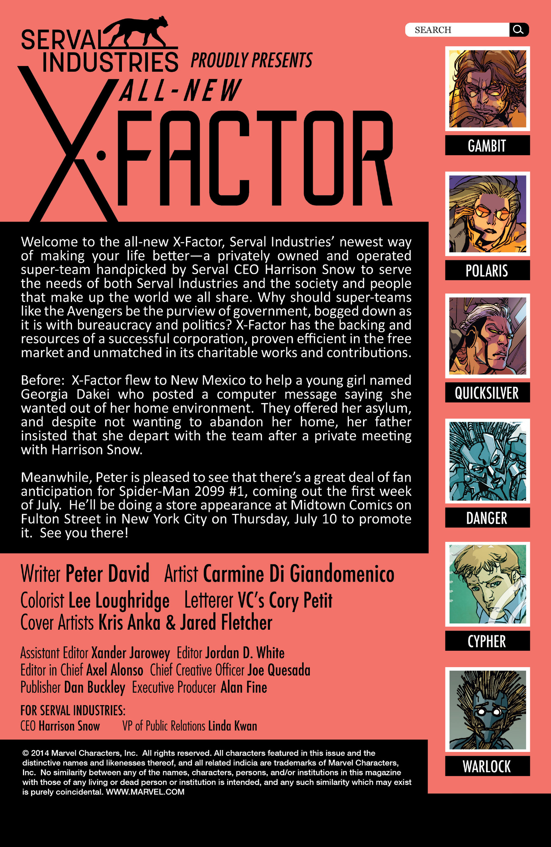 Read online All-New X-Factor comic -  Issue #9 - 2