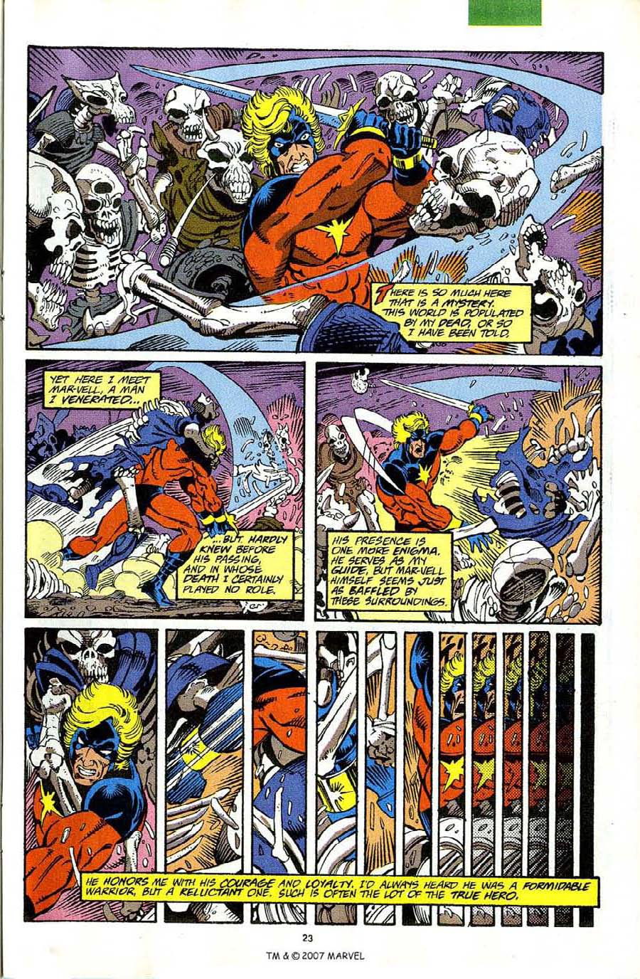 Read online Silver Surfer (1987) comic -  Issue #63 - 25