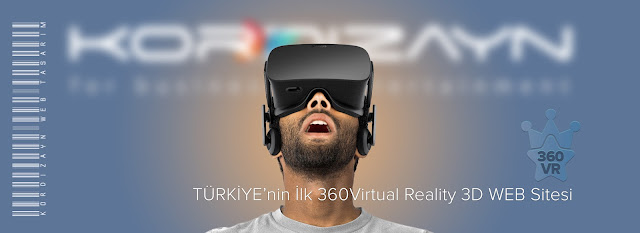 Virtual Reality Web Tasarımı Banneri