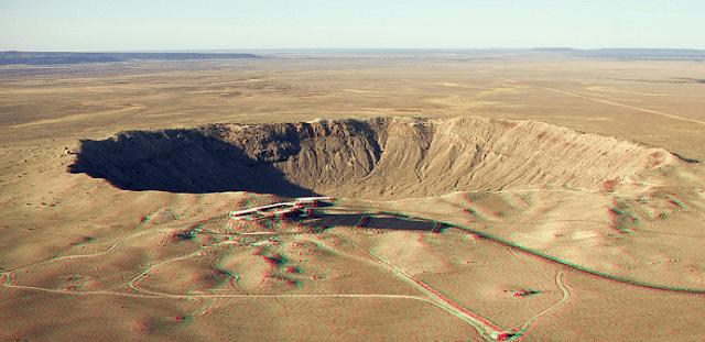 Dünya'ya Çarpan En Büyük Meteorlar -Barringer Krateri