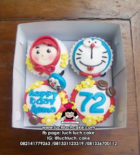 Cupcake Doraemon Lucu dan Murah