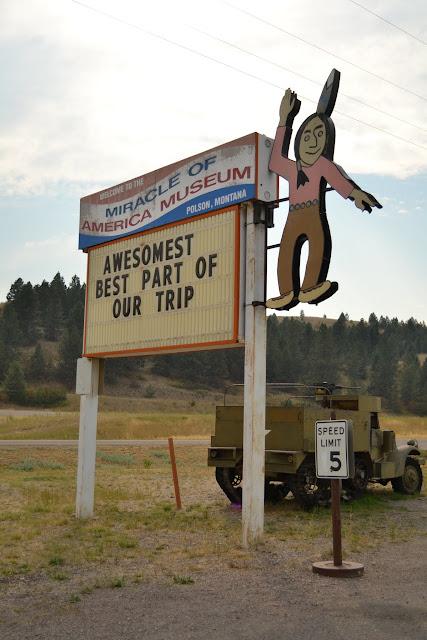 """Музей """"Чудо Америки"""", Полсон, Монтана (Miracle Of America Museum, Polson, MT)"""