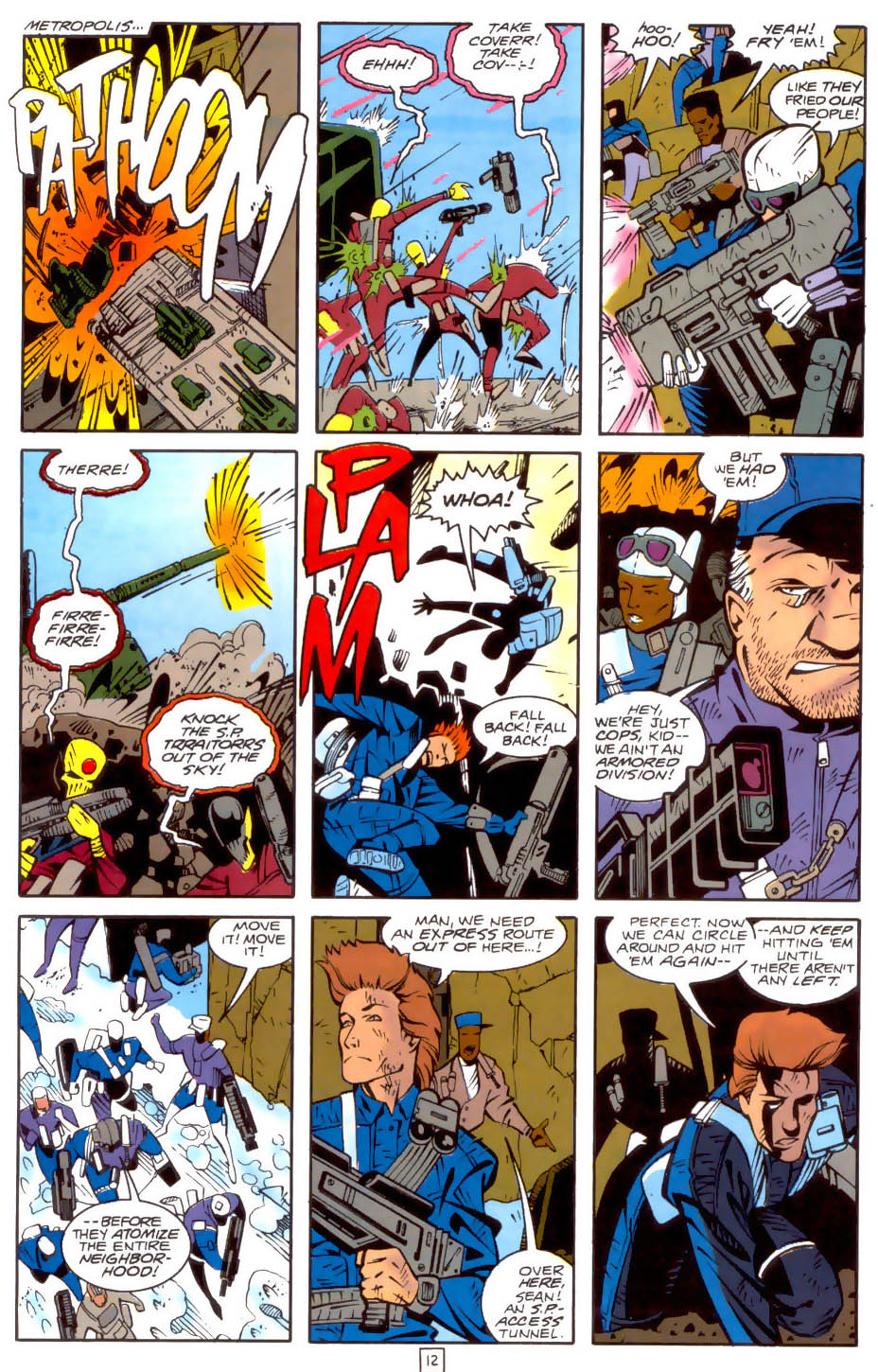 Legion of Super-Heroes (1989) 34 Page 12