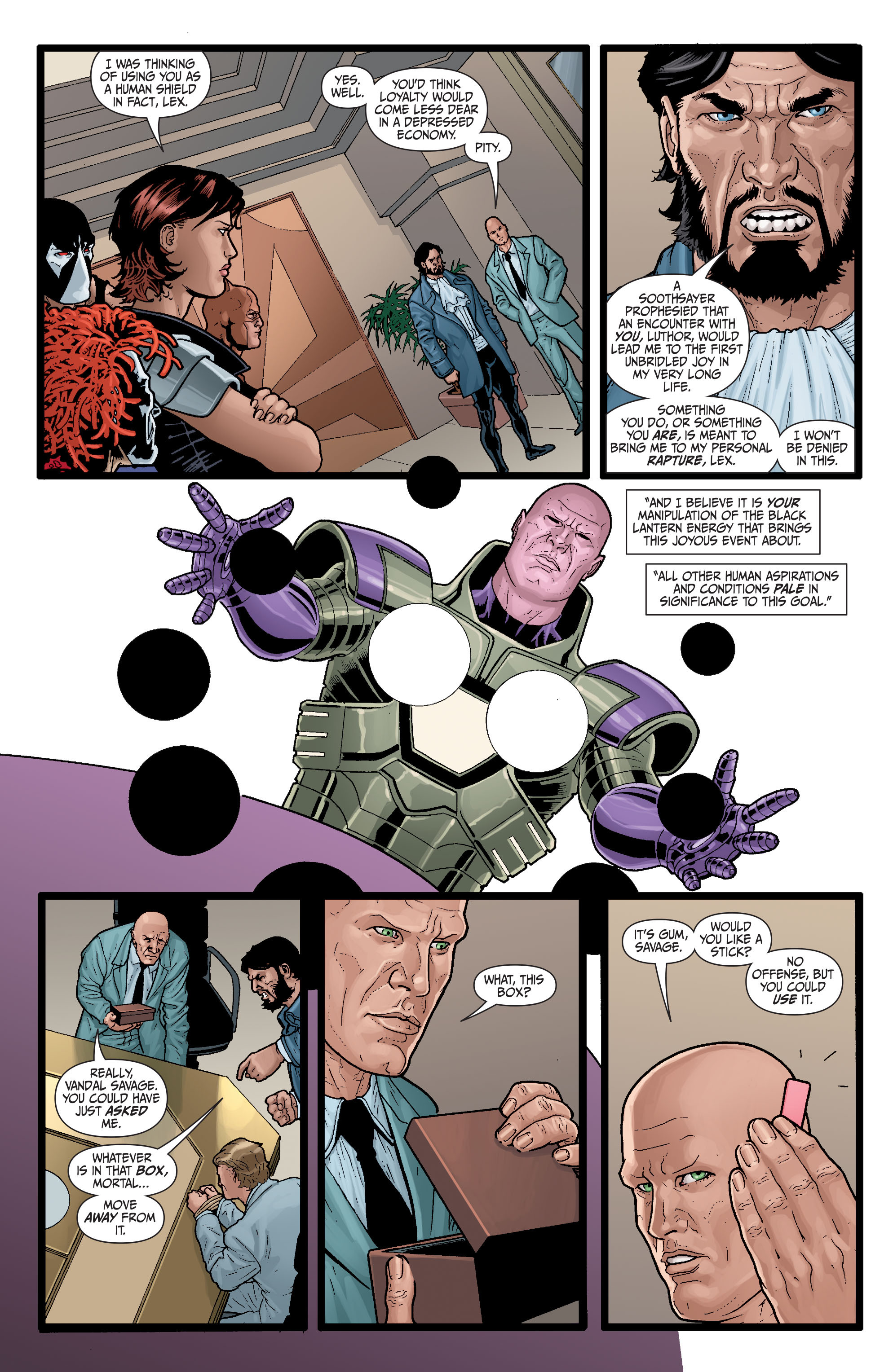 Read online Secret Six (2008) comic -  Issue #29 - 4