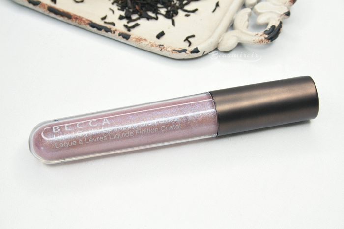 Becca liquid crystal glow lip topper gloss topaz x gilt