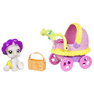 My Little Pony Sweetie Belle Newborn Cuties Playsets Stroling Along with Sweetie Belle G3.5 Pony