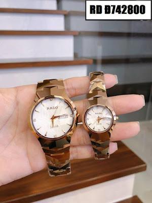 Đồng hồ cặp đôi đẹp nhất RD Đ742800