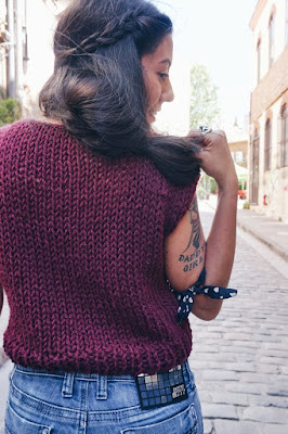 Simple Knit Top Pattern