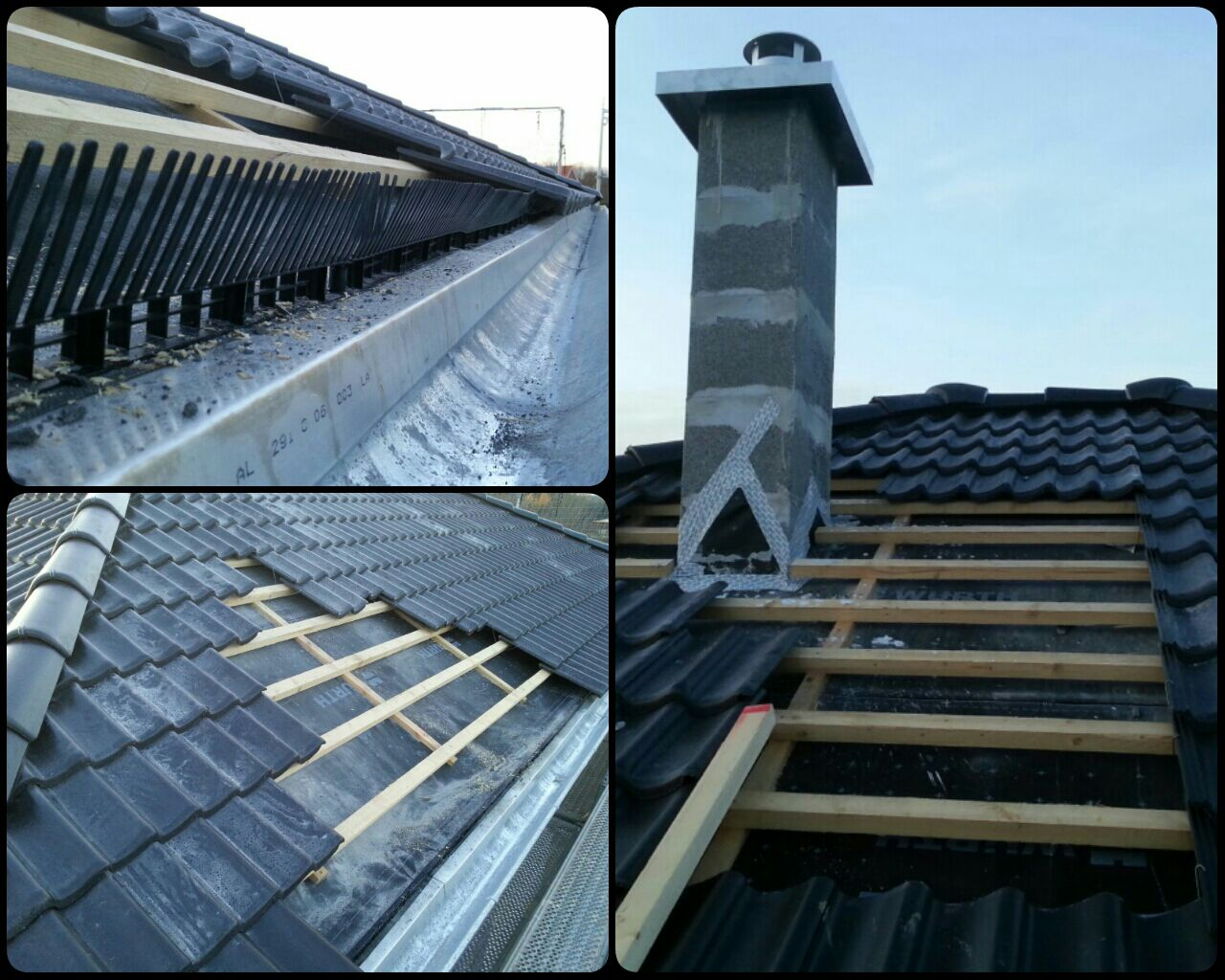 Benny und janina bauen eine stadtvilla das dach deckt sich - Einbau fenster klinkerfassade ...