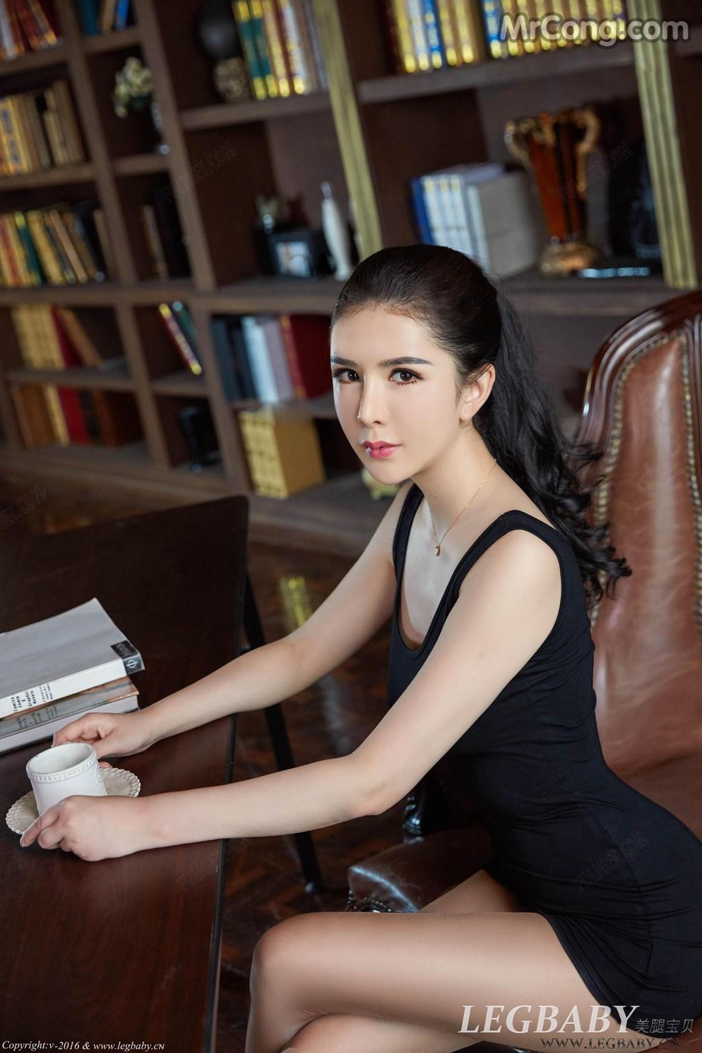 Image MrCong.com-LegBaby-Vol.021-Li-Li-Sha-001 in post LegBaby Vol.021: Người mẫu Li Li Sha (李丽莎) (80 ảnh)