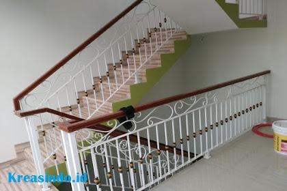 Model Railing dan Balkon Besi Semi Tempa Terbaru
