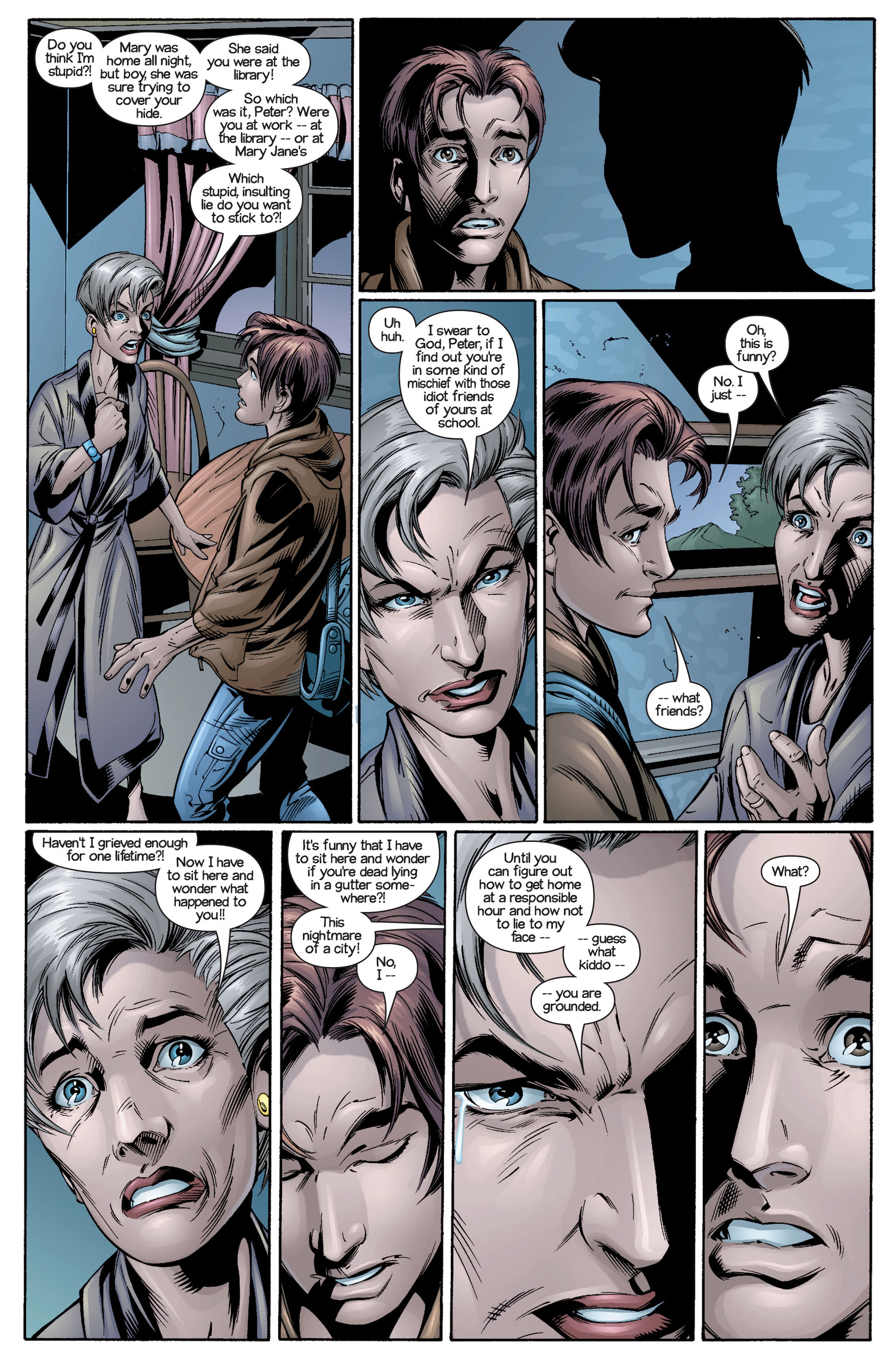 Read online Ultimate Spider-Man (2000) comic -  Issue #21 - 15
