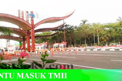 Alamat dan Harga Tiket (Ticket Price) Masuk Taman Mini Indonesia Indah