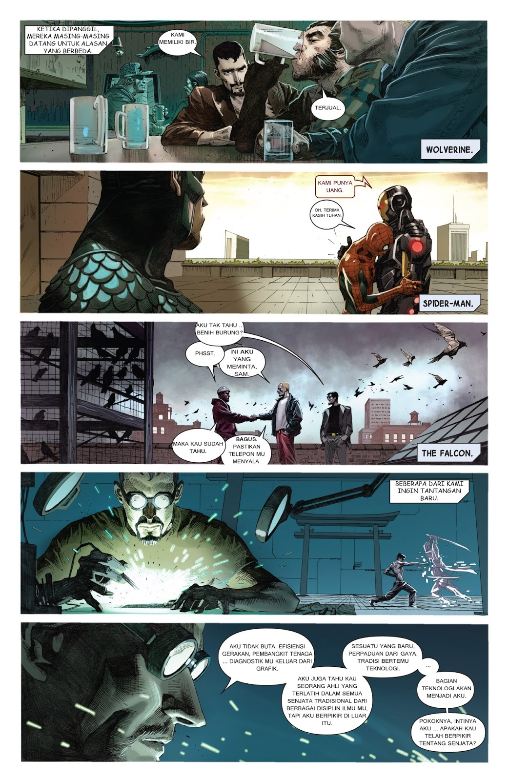 komik amerika bahasa indonesia: avengers #2