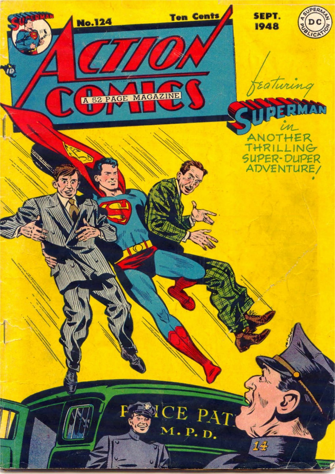 Read online Action Comics (1938) comic -  Issue #124 - 1