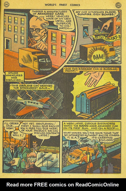 Read online World's Finest Comics comic -  Issue #34 - 43