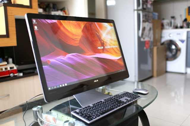 ASUS Zen AiO ZN270IE 支援 HDMI 影音輸入 All in One 電腦