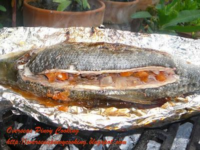 Inihaw na Bangus, Grilled Milkfish