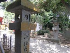 中村座の燈籠