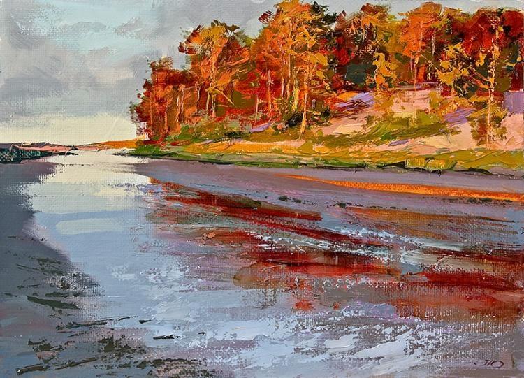 Yuri Lomkov. Artista