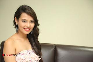Actress Sagarika Pictures in Short Dress at Friend Request Press Meet  0392.JPG