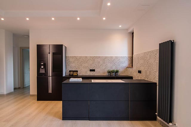 RE.DA. the startup that prints cardboard kitchens identical to the real ones has been presented at FIDEC, the Italian forum of constructions