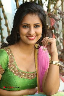 Actress Nikitha Bisht Stills in Lehenga Choli at Pochampally Ikat Art Mela Launch  0302.JPG
