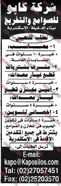 وظائف ميناء الدخيلة بالاسكندرية لجميع المؤهلات والتقديم الكترونى حتى 20 / 11 / 2016