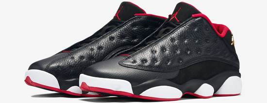 4b9816ff3d0 Air Jordan 13 Retro Low Black Metallic Gold-University Red-White Release  Reminder