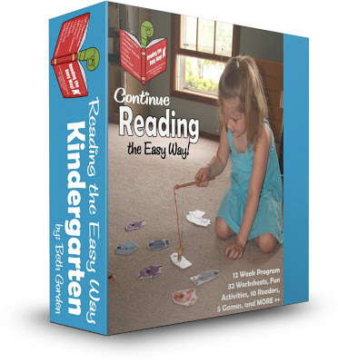 Reading the Easy Way Kindergarten - this is such a fun way for kids to improve their reading by mastering sight words. Includes fun sight word worksheets like color by sight words, weekly sight word readers, and creative sight word games. LOVE THIS!
