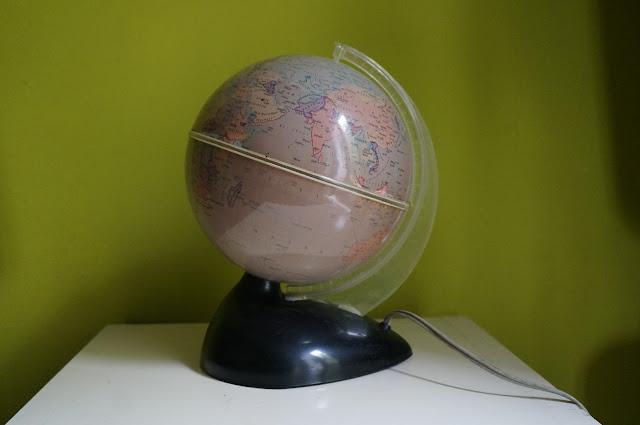 globe lumineux annees 60 60s 1960s