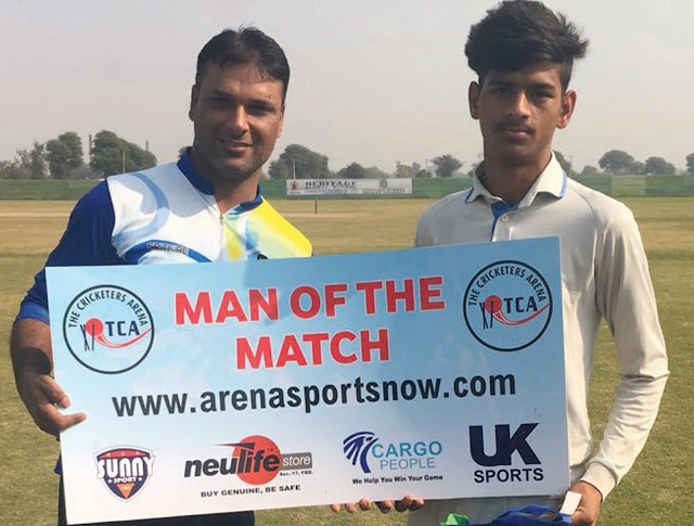 NCC, Vipul Warriors and Team Chanakya made the TCA Cup semi-final