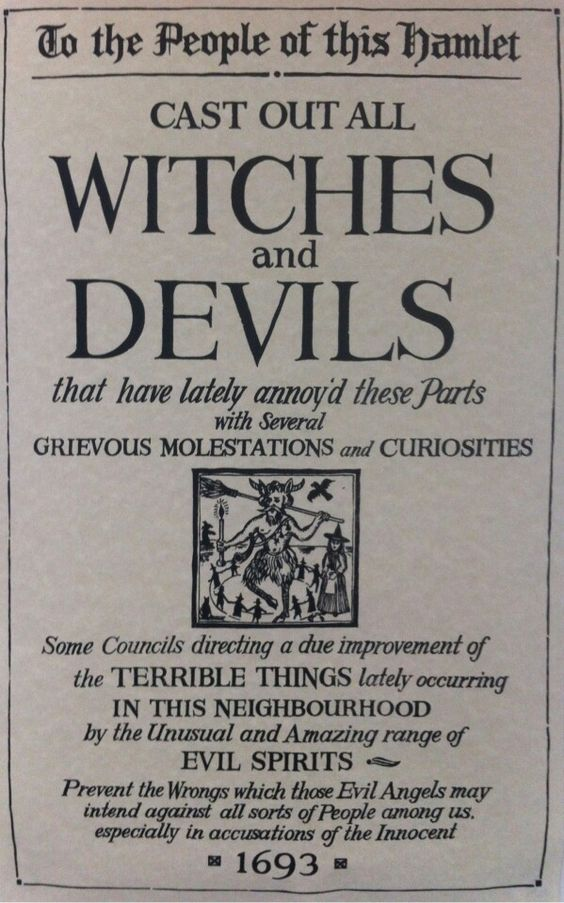 the witch and we the people Essays - largest database of quality sample essays and research papers on the witch and we the people.