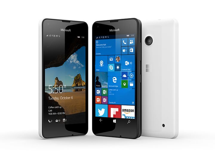 Microsoft launched Lumia 550 with 4.7 inch HD display, Windows 10 launched in India for Rs. 9399