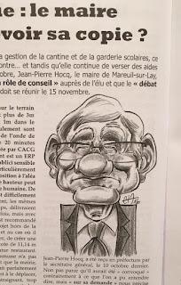 Le Maire de Mareuil ! ©Guillaume Néel