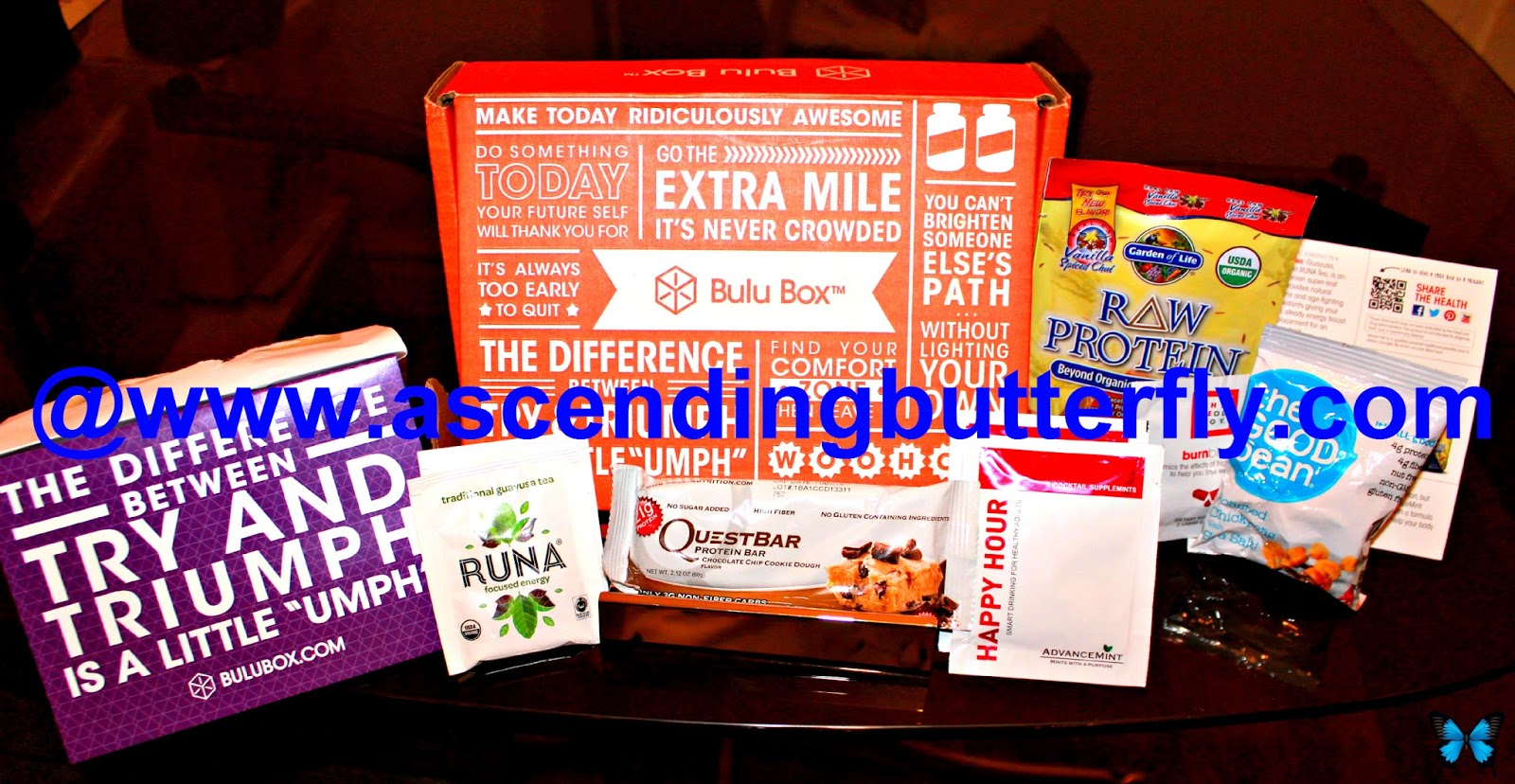 Bulu Box, BULUGAN707, healthy snacks, vitamins and supplements