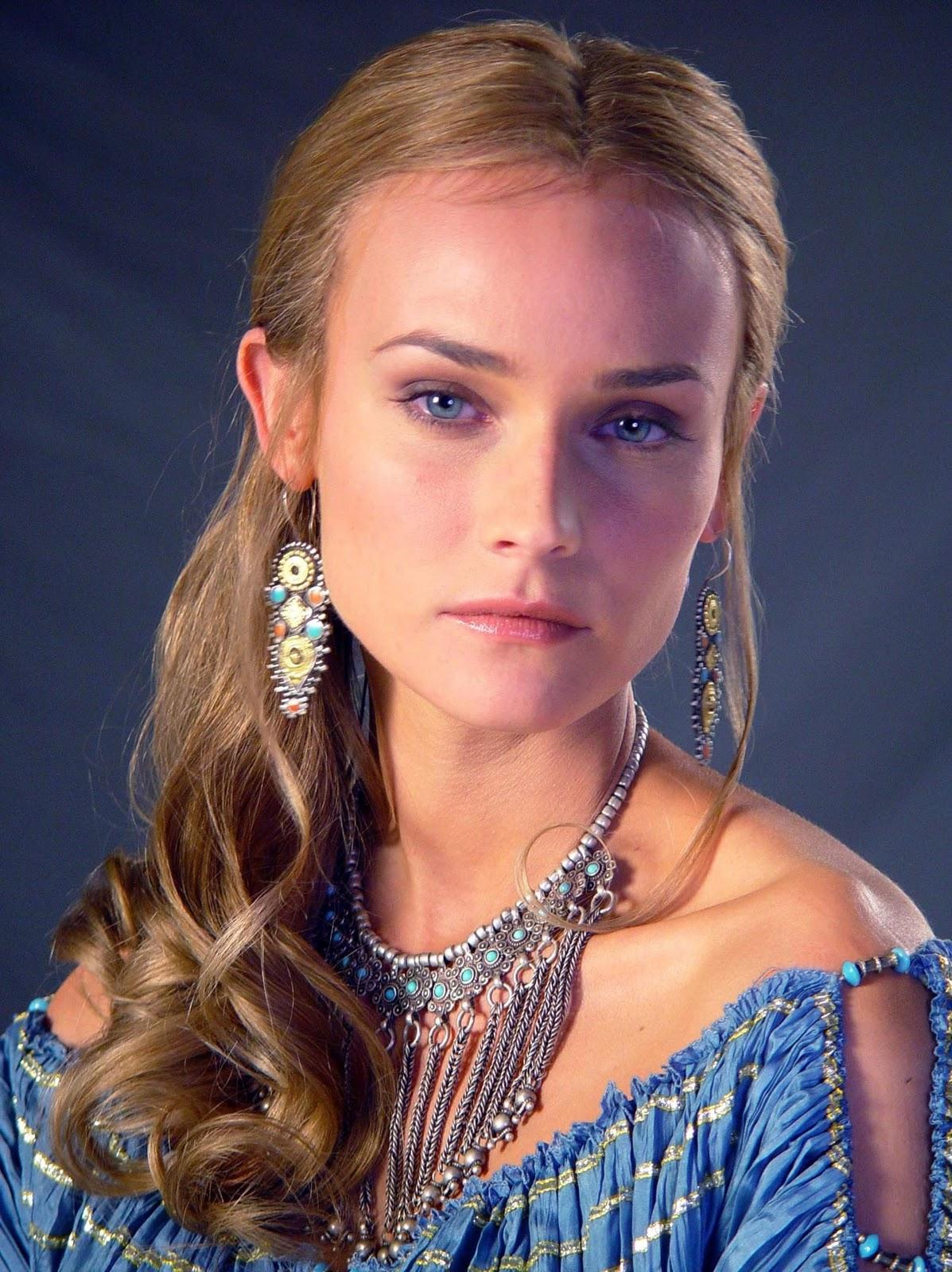 Diane Kruger as Helen Troy 2004