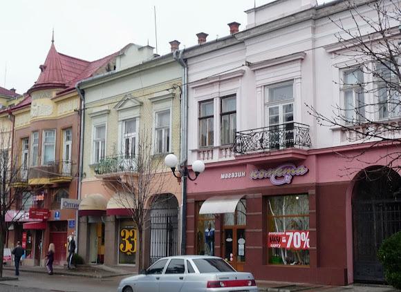 Мукачево. Площа Кирила і Мефодія