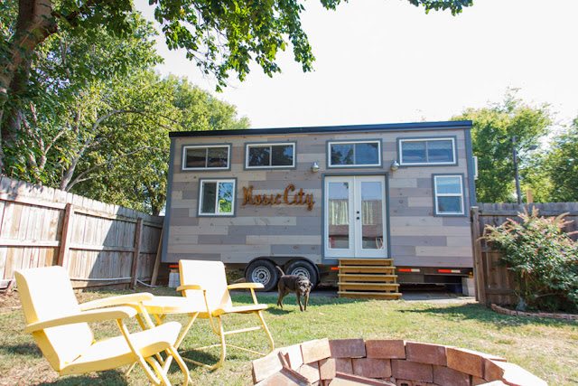 Music City tiny house by Tennessee Tiny Houses