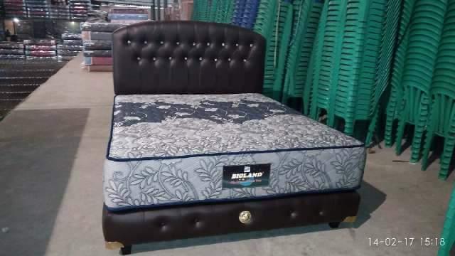 Jual Spring Bed Bigland Set Pabrik Original Paling Murah
