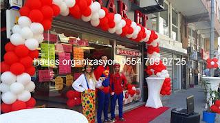 İzmir açılış organizasyonu kostümlü karakterler