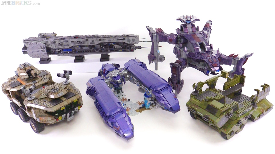 Mega Bloks Halo Mega-builds compared! Spirit vs  all