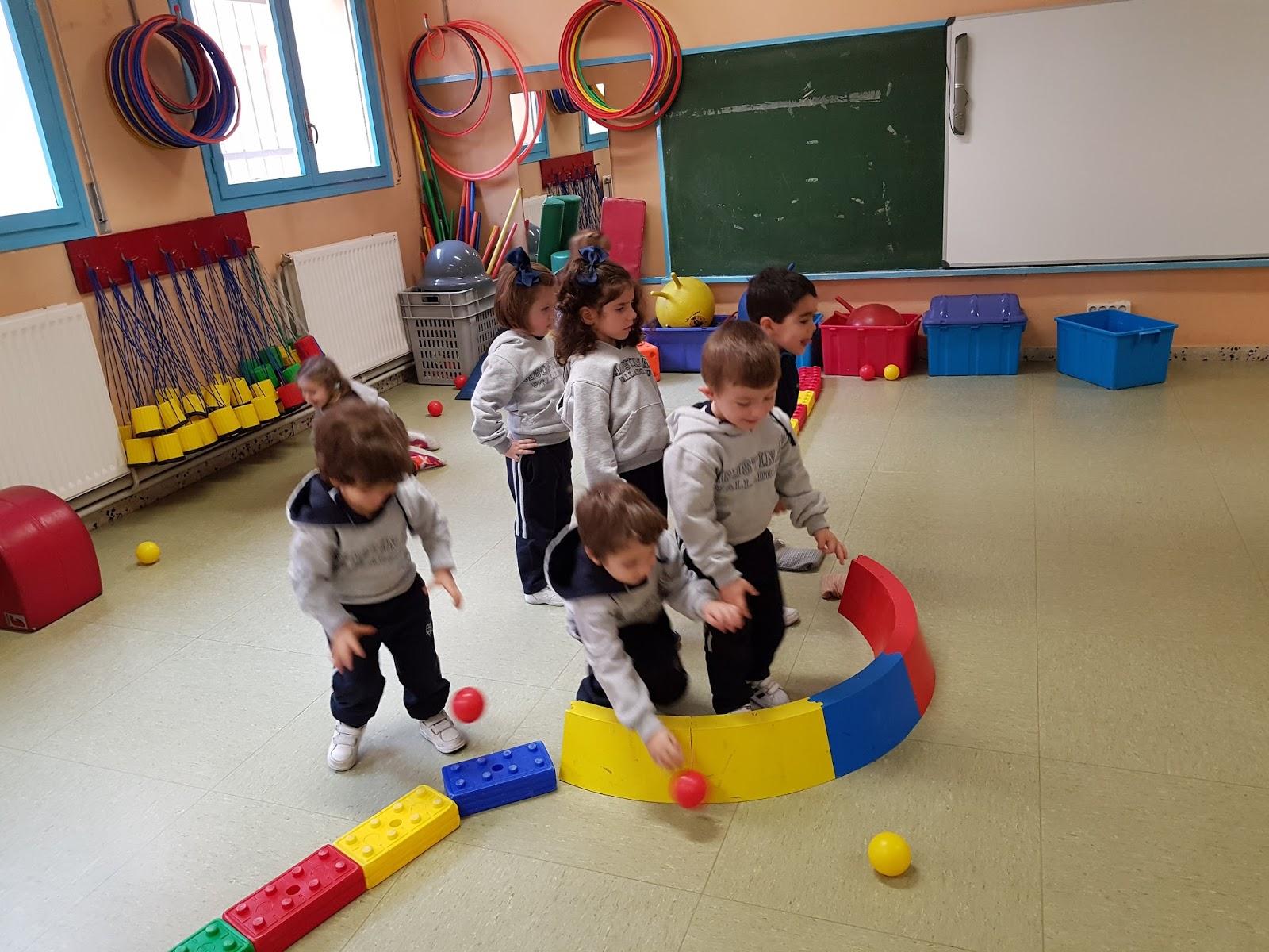 Agustinas Valladolid - 2017 - Infantil - Psicomotricidad Edad Media 2